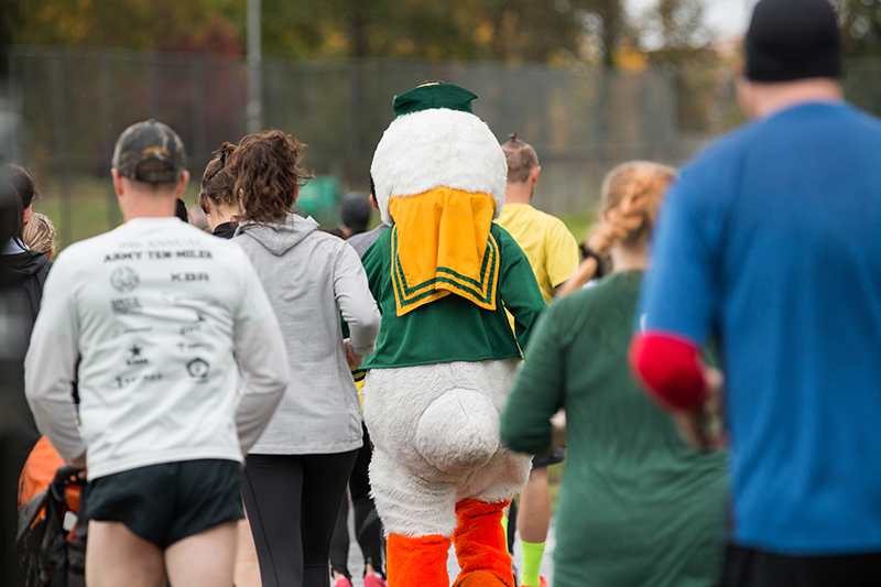 Run with the Duck