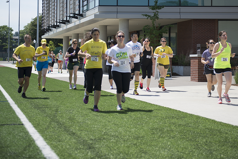 UO employees walk and run for Take A Hike